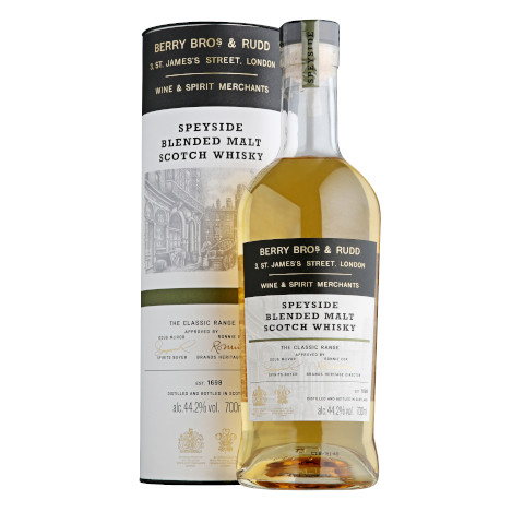 PALLINI - BERRY BROS & RUDD SPEYSIDE BLENDED MALT SCOTCH WHISKY CON ASTUCCIO-70CL